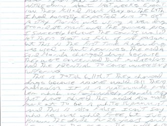 Letters From Death Row: You Have Friends Here