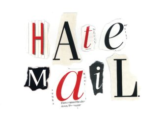 "Hate Mail – ""No Stamps"""